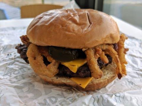 Bacon Jalapeno Cheeseburger