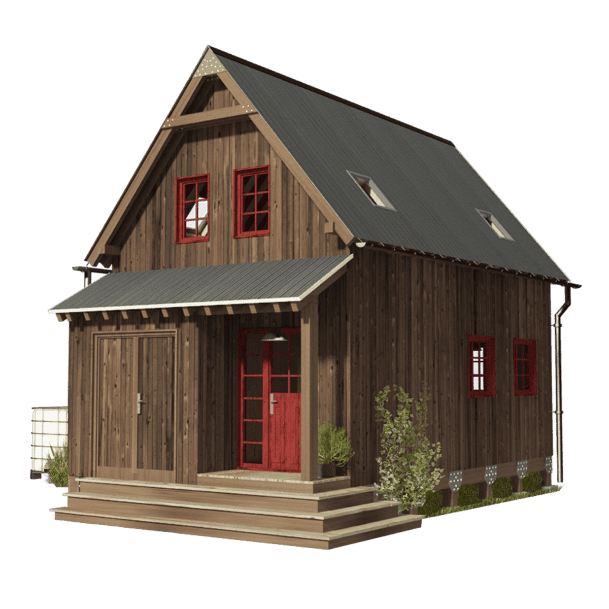 Brilliant Amy A Small 3 Bedroom Tiny House Tiny House Blog Download Free Architecture Designs Rallybritishbridgeorg