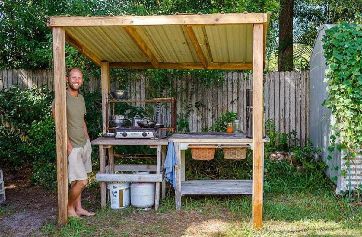 Outdoor Kitchens A Summery Extension Of A Tiny House Tiny House