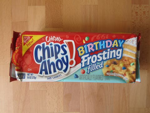 Amazing Review Nabisco Birthday Frosting Filled Chips Ahoy Cookies Funny Birthday Cards Online Eattedamsfinfo