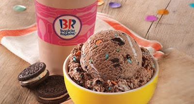 Pleasant Baskin Robbins Introduces New Oreo Birthday Cake Ice Cream And Birthday Cards Printable Giouspongecafe Filternl