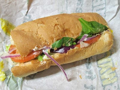 Review: Subway - Cold Cut Combo   Brand