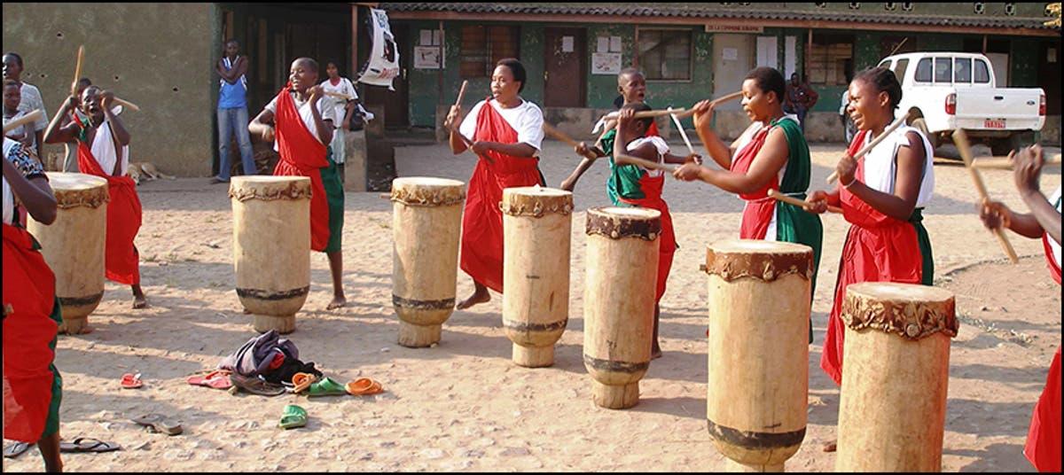 Burundi bans women from playing traditional drums