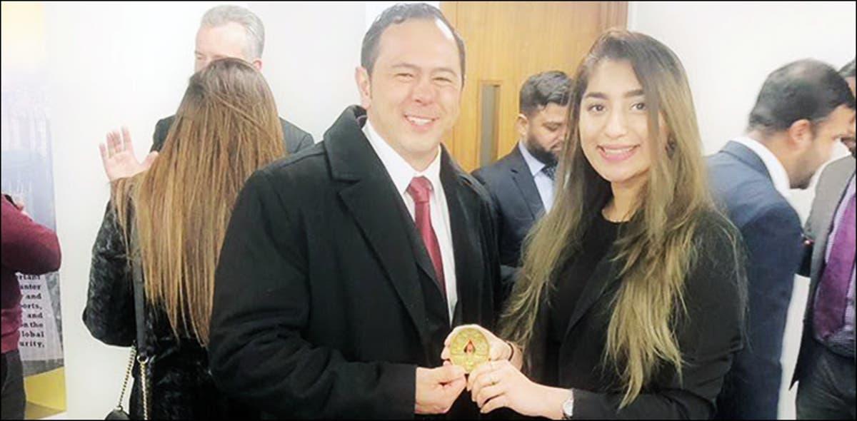 Pakistani student Aliza Ayaz leads student engagement at UCL