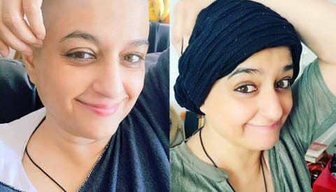 Nadia Jamil opens up about shaving her head post-chemotherapy