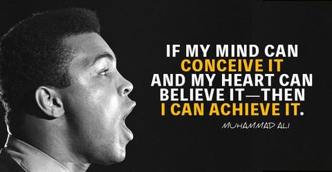 17 Epic Muhammad Ali Quotes - Mindset Of A Champion - MotivationGrid