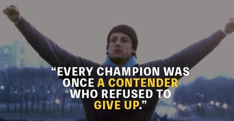 Top 20 Rocky Quotes to Get You Through Hard Times - MotivationGrid