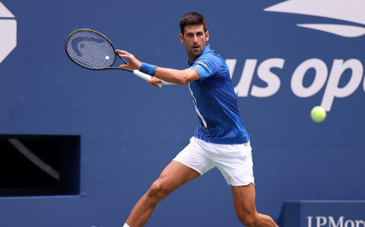 So Sorry Djokovic Disqualified From Us Open For Hitting Judge