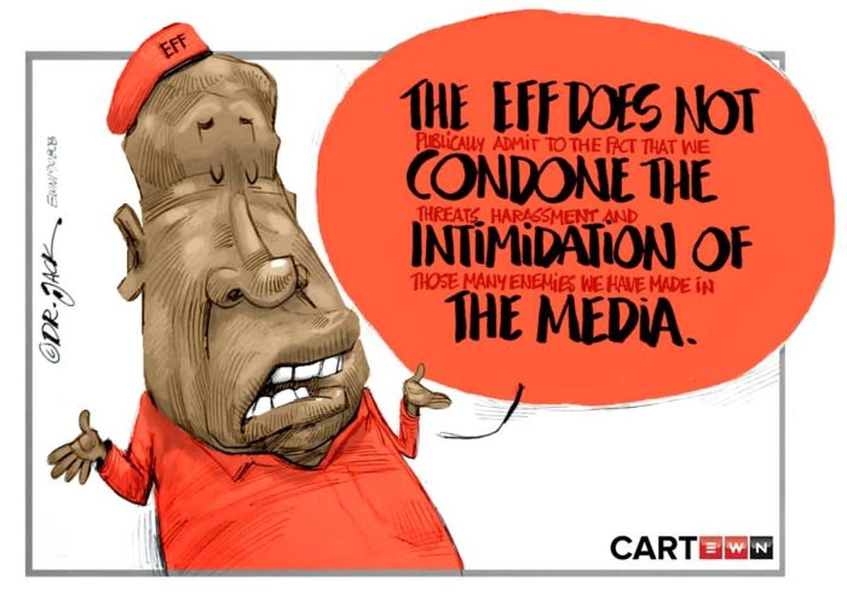 Cartoon Political Double Speak