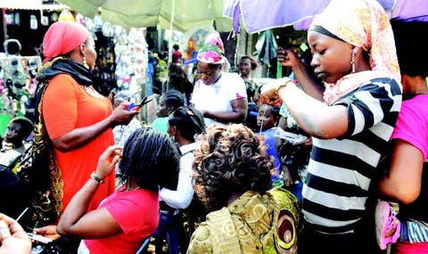 Hairdressers' business suffers as Nigerians cut down on hair salon ...