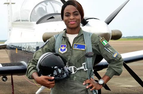 Why I decided to become Nigeria's first female fighter jet pilot ...