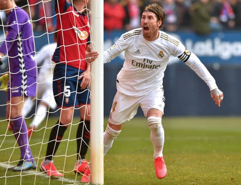La Liga Madrid Come From Behind To Beat Osasuna 4 1 Extend Lead