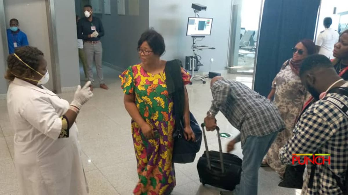 Image result for No proper screening of passengers for Coronavirus at Nigerian airports says Senate