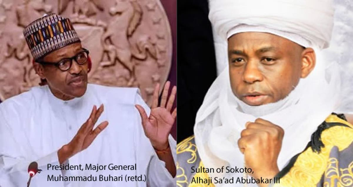 Eid-el-Fitr: Buhari backs Sultan, asks Muslims to pray at home ...