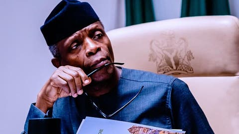 EndSARS: We're sorry for being silent, Osinbajo begs youths – Punch  Newspapers