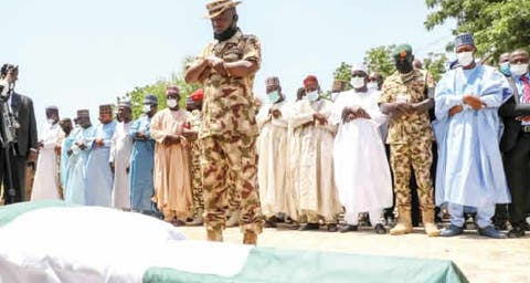 Tributes as Army commander, Bako killed by Boko Haram is buried – Punch  Newspapers