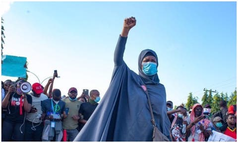 #EndSARS: I was told people curse me in mosques -Aisha Yesufu