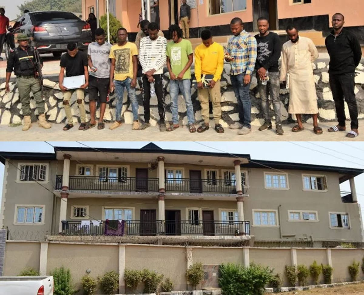 EFCC arrests landlord for housing 10 suspected cyber fraudsters -  WuzupNigeria