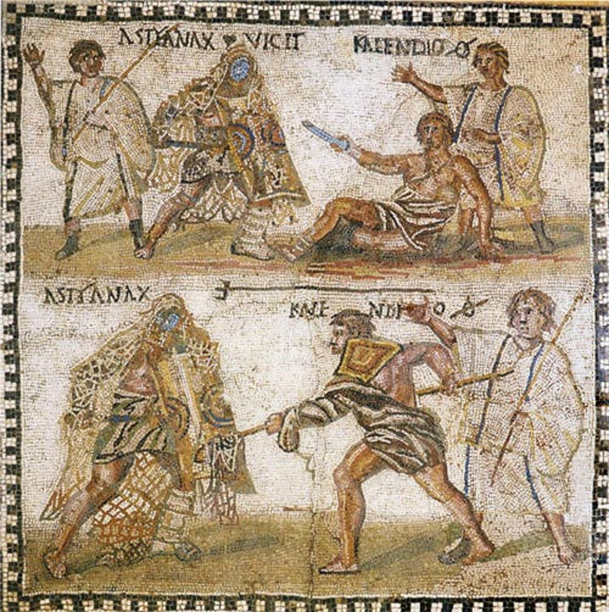 Roman Gladiators were mostly Vegetarian, Drank Sports Drinks from