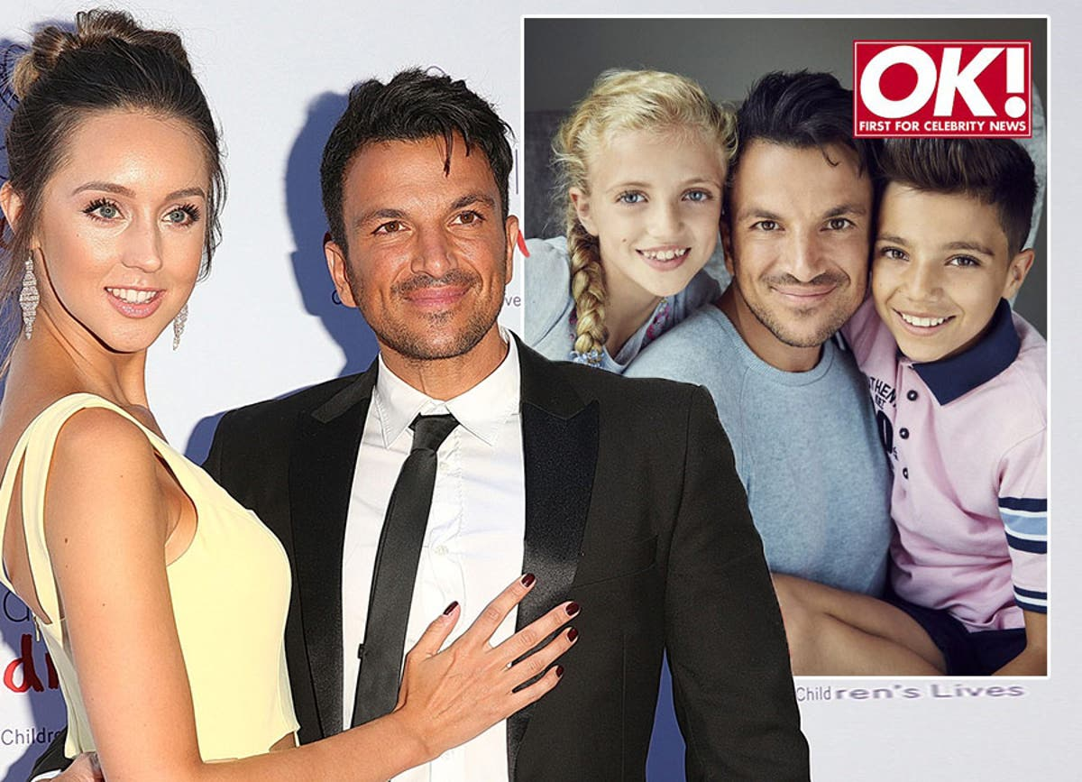 Peter Andre Says He Won T Be Having More Children In The Near Future