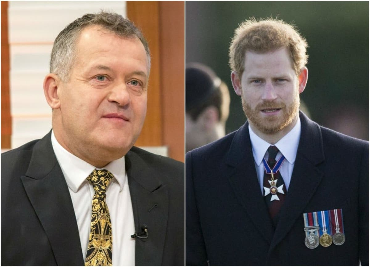 princess diana s butler paul burrell slams rumours over the identity of prince harry s biological father princess diana s butler paul burrell