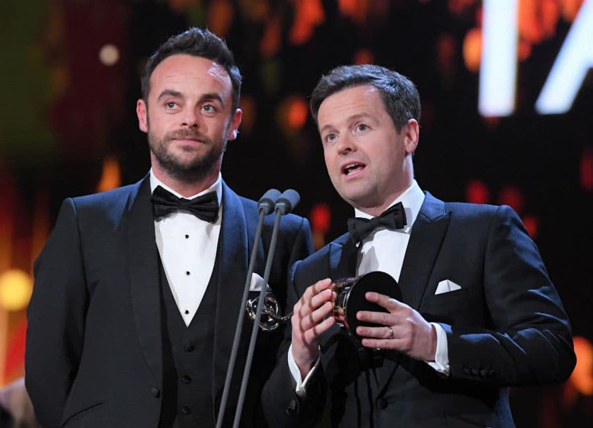 Itv Bosses Decide Ant Mcpartlin Will Appear On Britain S Got Talent