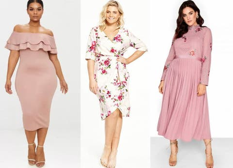 9 Plus Size Wedding Guest Dresses You Will Love,Marriage Reception Kerala Wedding Reception Dress For Bride And Groom