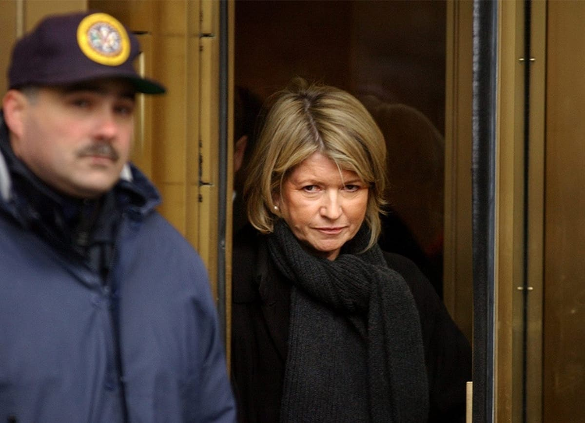 Its Been 15 Years Since Tv Chef Martha Stewart Was Released From Jail
