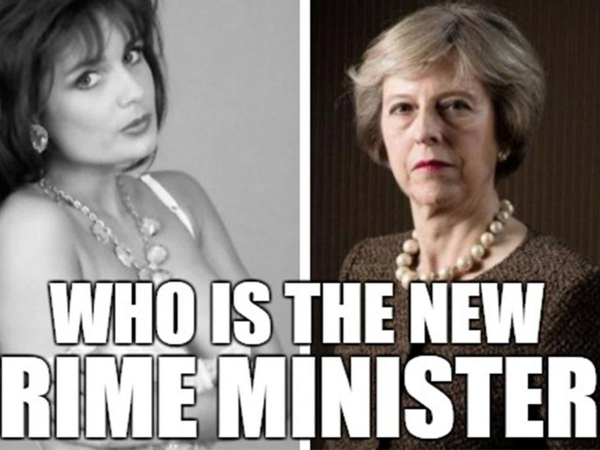 Asuncion Actriz Porno la casa blanca confundió a la primera ministra inglesa con