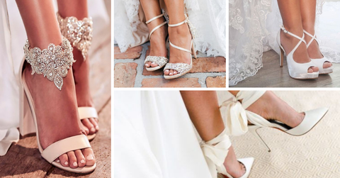 Tudo o que você precisa saber sobre sapatos para noivas