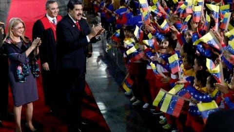 Nicolas Maduro, Cilia Flores, Maikel Moreno