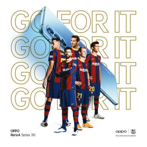 OPPO y el FC Barcelona lanzan un TikTok Challenge