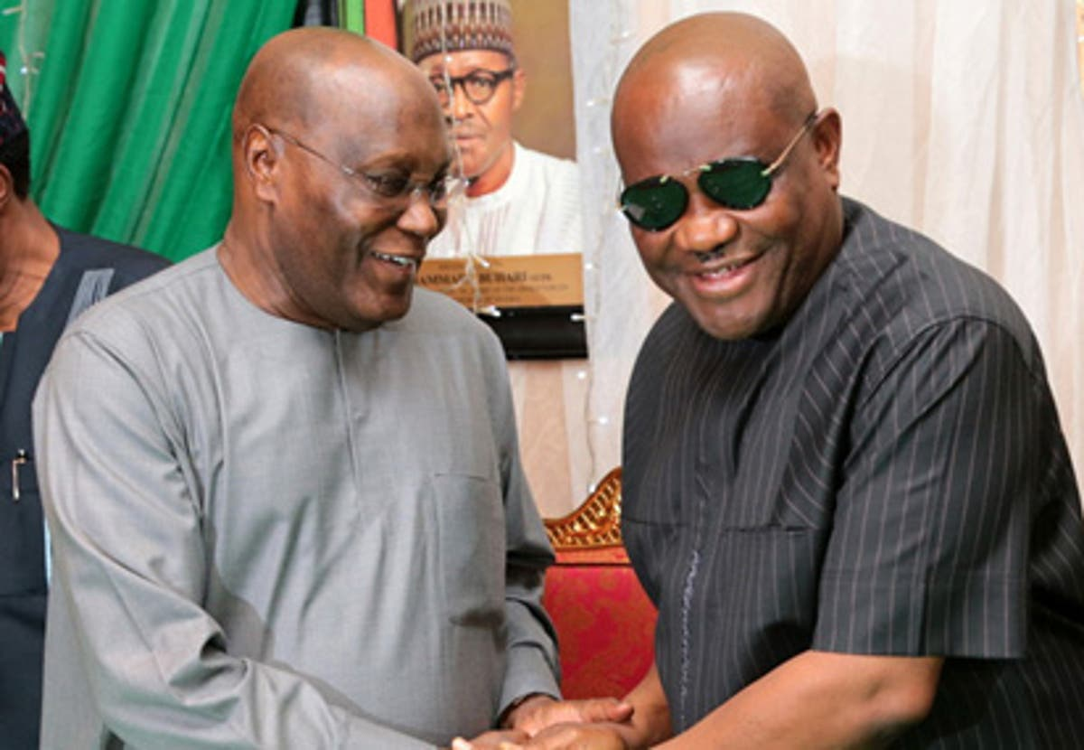 Image result for atiku wike