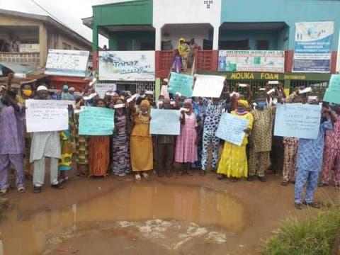 ONDO 2020: Protest rock Ondo over indirect primary nine days to ...