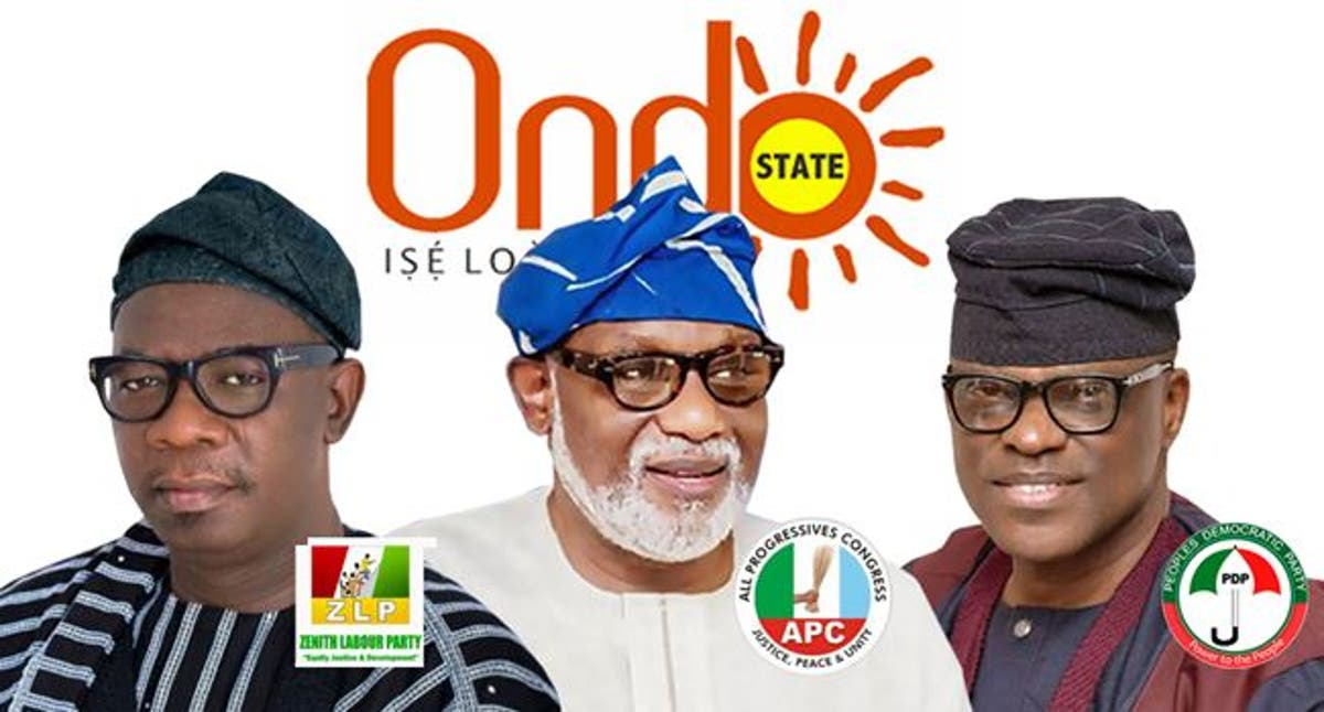 Ondo 2020: Akeredolu floors, Agboola, Jegede in Ondo mock election -  Vanguard News