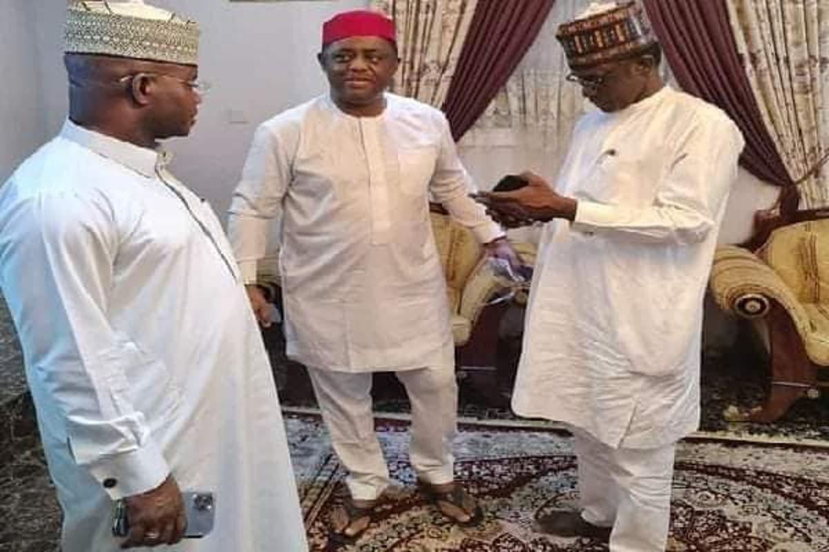 Image result for Don't admit Fani-Kayode into APC, PGF DG warns Buni