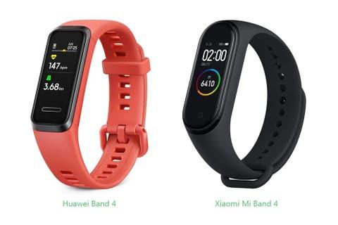 Huawei Band 4 vs Xiaomi Mi Band 4