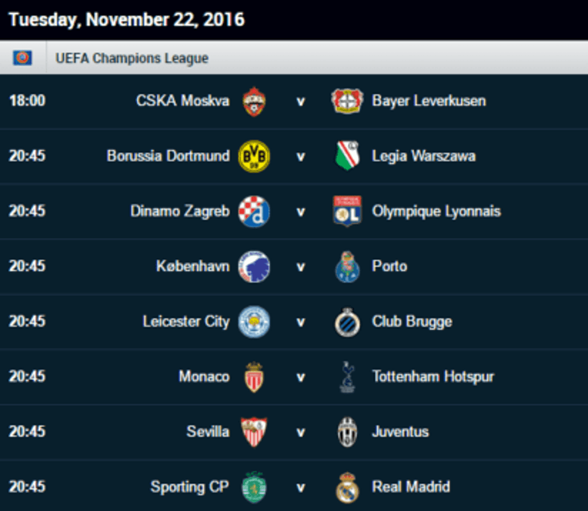 uefa champions league fixtures vanguard news uefa champions league fixtures