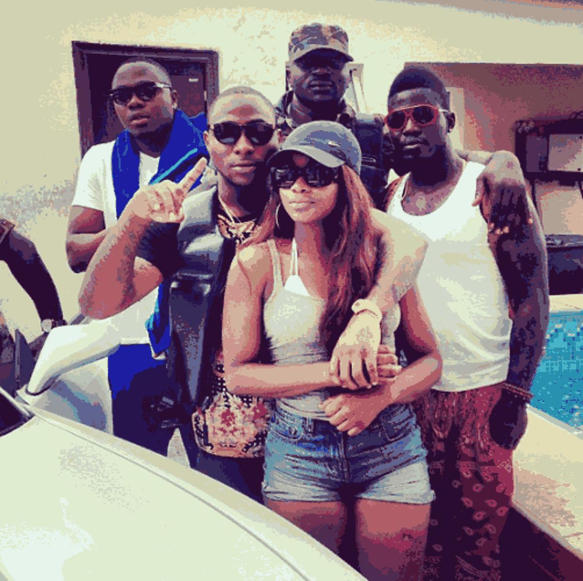 Is Funmi Aboderin Davido's New Girlfriend?!? - Information Nigeria
