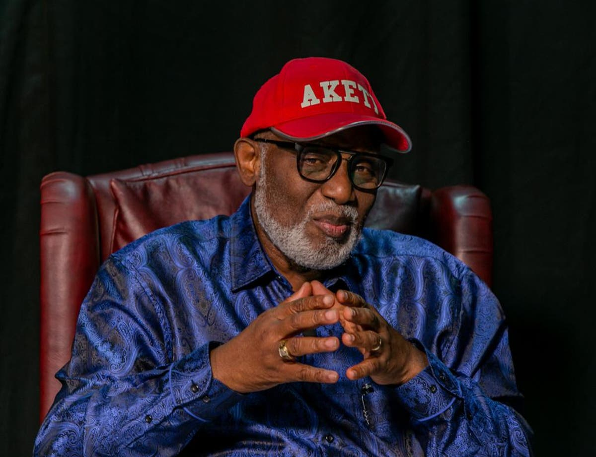 Ignore my disqualification rumour, Akeredolu tells APC supporters in Ondo