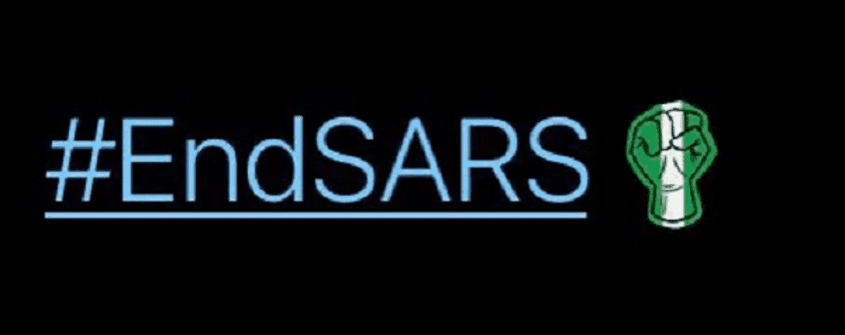 Twitter creates #EndSARS emoji in solidarity for Nigerian youths' protest -  Vanguard News