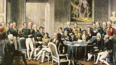 Resultado de imagen de congreso de viena