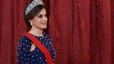 ca341900b Reina Letizia  Este fue el look ideal de la reina Letizia en 2018 ...