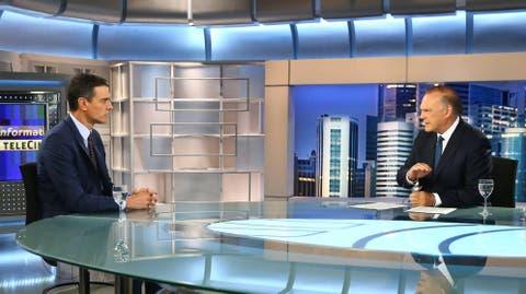 El tal Sánchez en Tele 5 bilaketarekin bat datozen irudiak