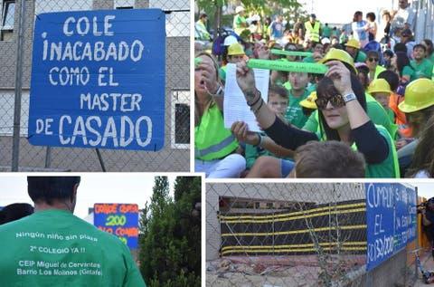 Calendario Escolar Andalucia 2020 19.Vuelta Al Cole En La Escuela Ruinosa De Getafe Prefiero A Mis Hijos