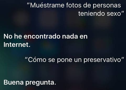 Apple Nunca Hagas Preguntas Sobre Salud Sexual Al Asistente