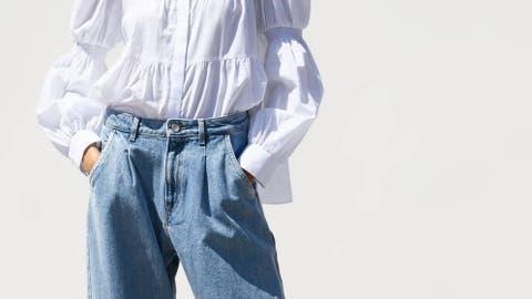 pantalon vaquero claro zara