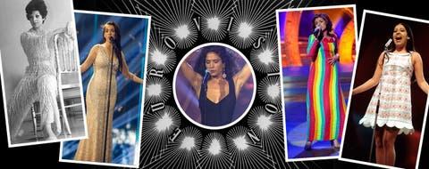 8fc7c4690a Los 10 vestidos de nuestras cantantes en Eurovisión que han hecho historia