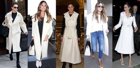 f5c0874fe Tendencias: Un abrigo blanco, el último capricho trendy al que no te ...