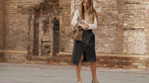 59f8b391f Instagram: Ni plisada, ni maxi, la falda de moda es la tipo pareo y ...